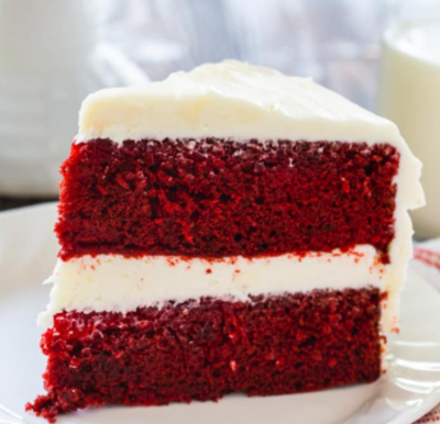 Red Velvet Cake with Cream Cheese Icing (8 inch)