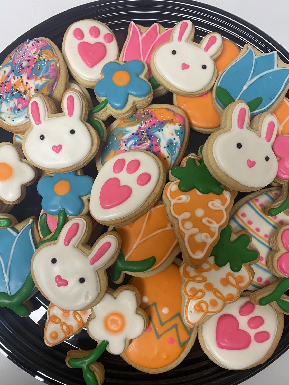Easter Cookie Tray (30 Cookies)