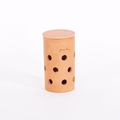 Petit tube lombricomposteur terre cuite