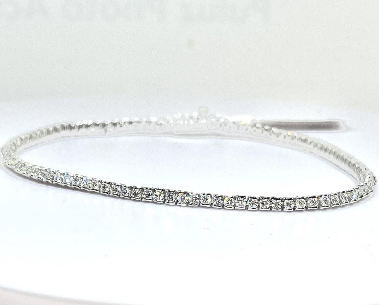 14K 1 7/8ctw Diamond Bracelet