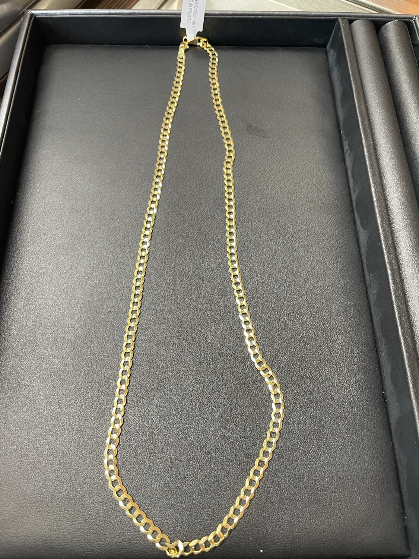 14KY 22inch Figaro Chain
