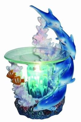 BLUE DOLPHIN FRAGRANCE LAMP