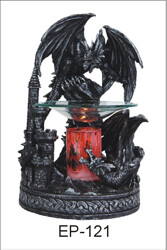 BLK DRAGON FRAGRANCE LAMP