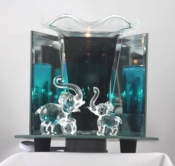 ELEPHANT GLASS FRAGRANCE LAMP
