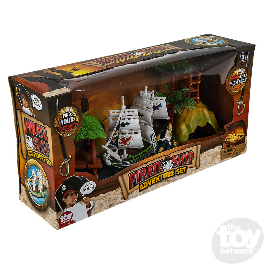 4PC PIRATE ADVENTURE SET