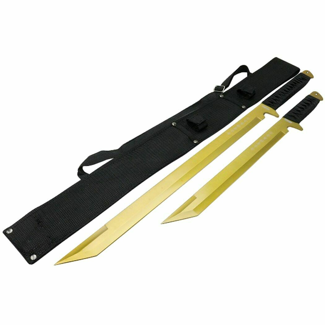 "26""/18"" STAINLESS STEEL GOLD BLADE W/SHEATH"