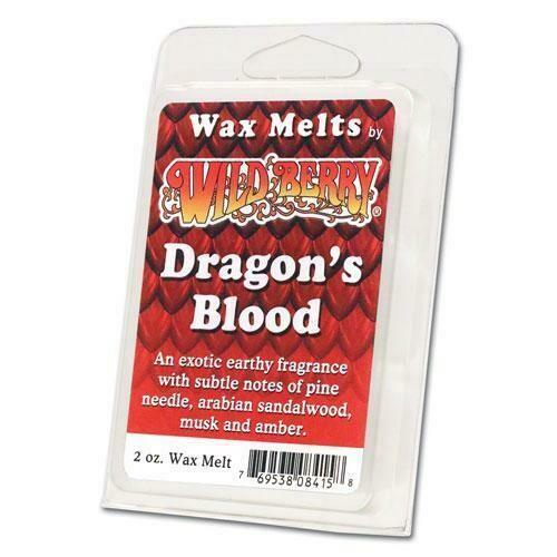 DRAGONS BLOOD WAX MELT