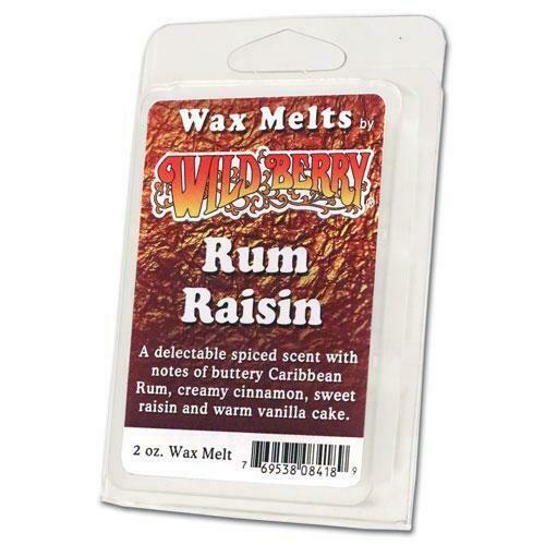 RUM RAISIN WAX MELT
