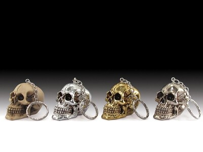 ASSORTED SKULL KEY CHAIN