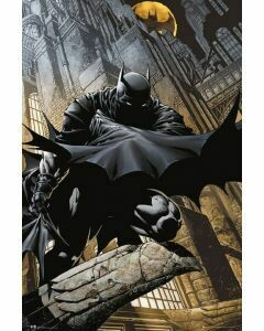 BATMAN NIGHT STALKER POSTER ON CARDBOARD
