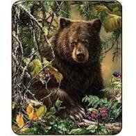 BLACK BEAR WOODS FAUX FUR