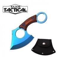 """RAZOR TACTICAL 6"""" AXE BLUE 7103BL"""