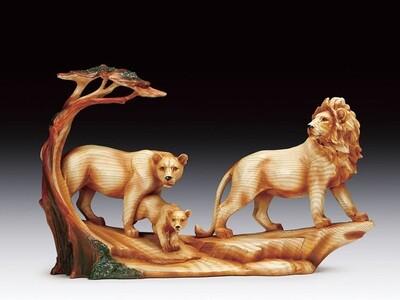 WOOD LIKE LION FAM