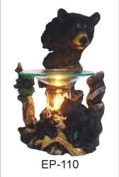 BLACK BEAR HEAD FRAGRANCE LAMP
