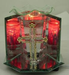 GOLD CROSS FRAGRANCE LAMP