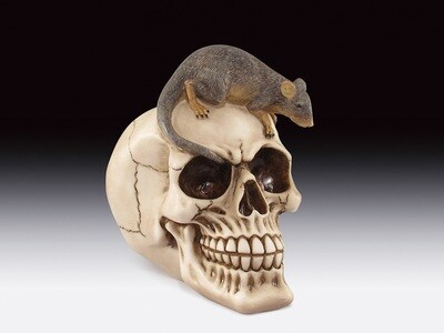 SKULL WITH MOUSE