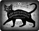 BLACK CAT SPIRIT BOARD FAUX FUR