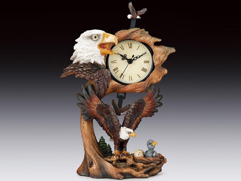 EAGLE FAMILY SWING CLOCK