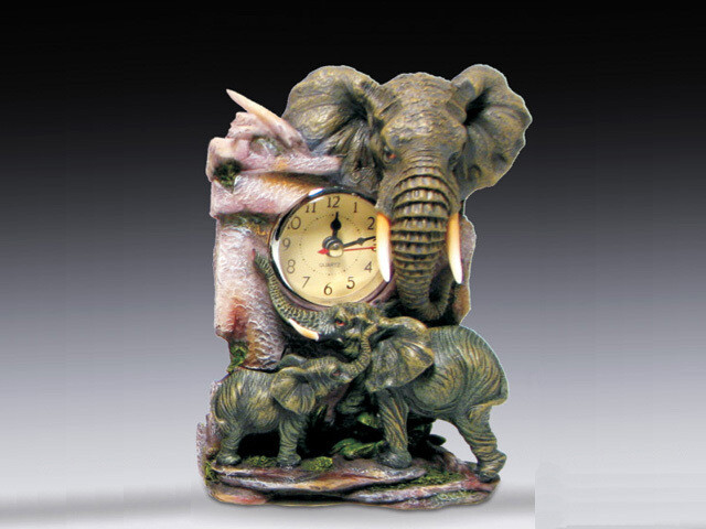 MINI ELEPHANT CLOCK