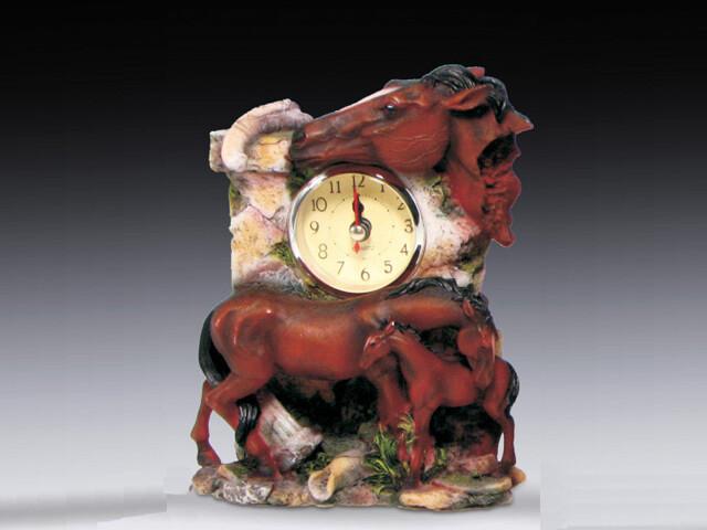 MINI HORSE CLOCK