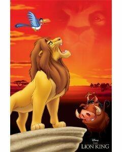 LION KING-KING OF PRIDE ROCK ROLLED