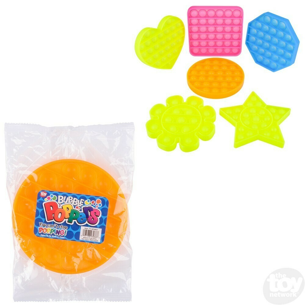BUBBLE POPPERS SHAPES