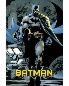 BATMAN CLASSIC COMIC MUSCLE POSTER ON CARDBOARD
