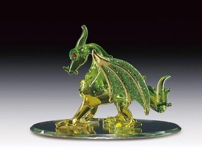 GREEN DRAGON ON BASE