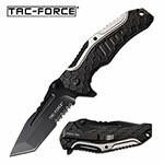 (R25) TAC FORCE BLACK/SILVER SPRING ASSIST