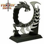 "(F1) 8"" FANTASY DRAGON TAIL W/STAND"
