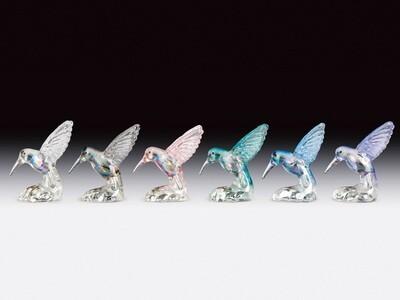 GLASS HUMMINGBIRDS