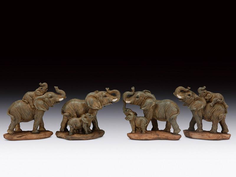 MINI ELEPHANT MOM/CUB