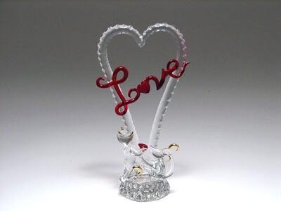 """""""LOVE"""" IN HEART W/CATS"""