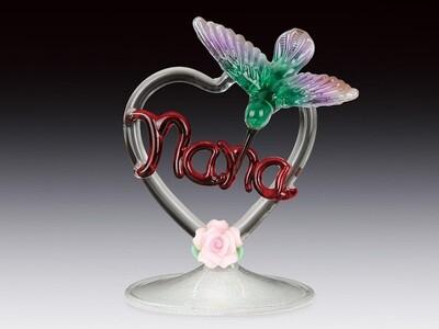 NANA IN HEART W/HUMMINBIRD