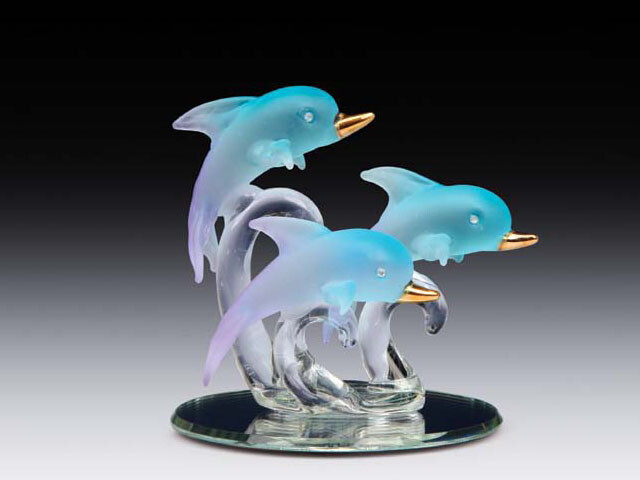 JUMPING DOLPHINS ON BASE