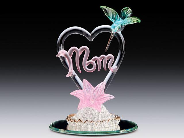 MOM IN HEART W/HUMMINBIRD