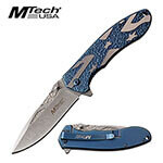(R36) MTECH USA BLUE SPRING ASSISTED