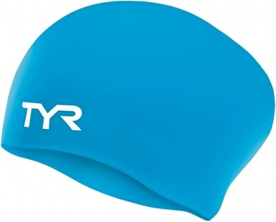 1870059 LONG HAIRED SILICONE CAP LCSL BLUE 420