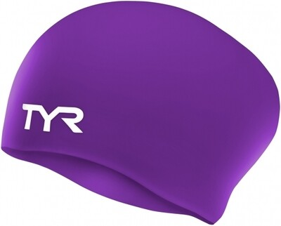 1870060 LONG HAIRED SILICONE CAP LCSL PURPLE 510