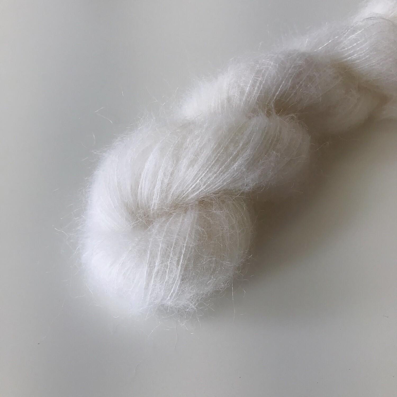 DREAM - Mohair Silk Lace - Snow