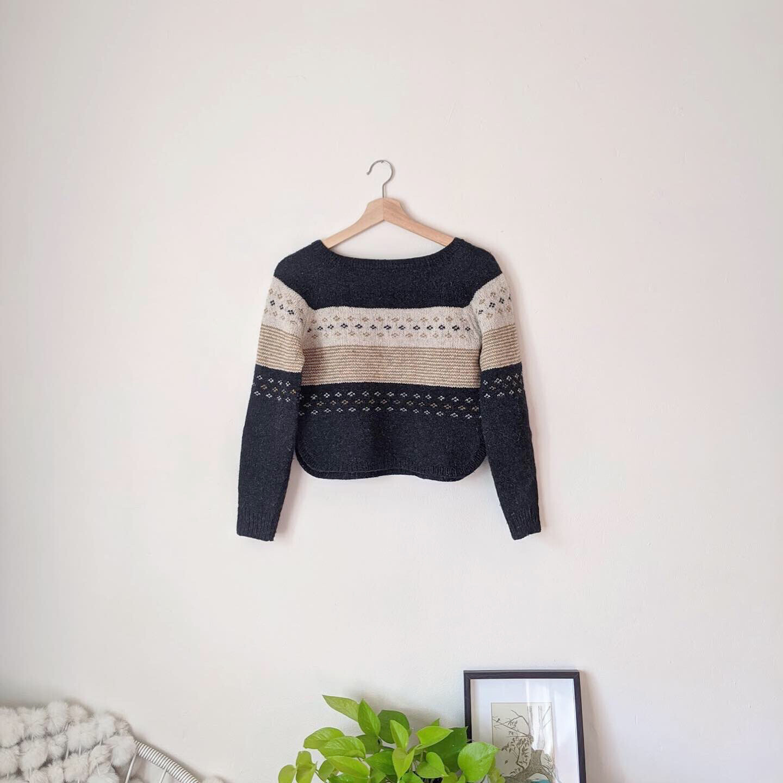 Clifton Crop - Sweater Knitting Pattern