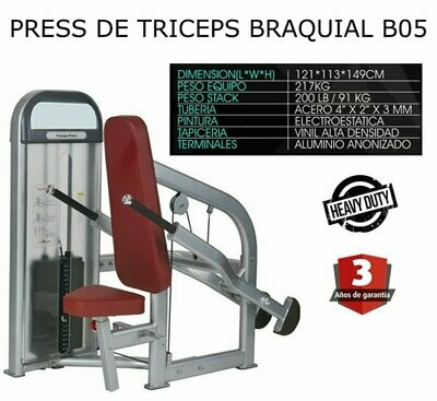 PRESS TRICEPS BRAQUIAL B05