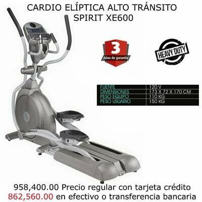 CARDIO ELÍPTICA ALTO TRÁNSITO