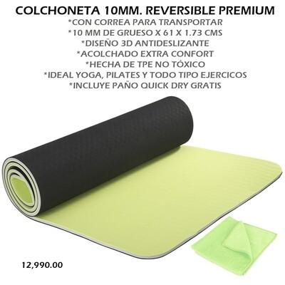 COLCHONETA 10MM. REVERSIBLE PREMIUN
