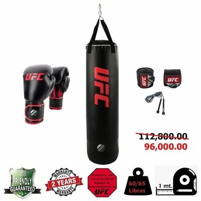 COMBO SACO UFC 1MT Y ACCESORIOS
