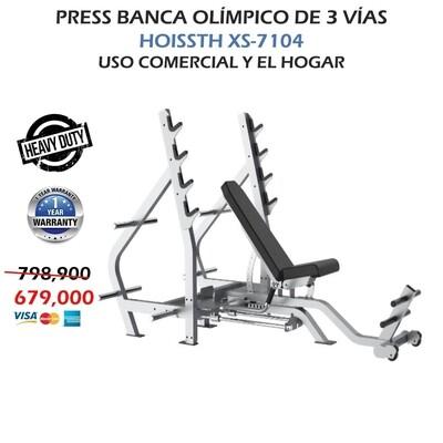 PRESS BANCA OLIMPICA DE 3 VIAS