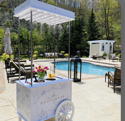 Wine And Bubbly Cart Rental