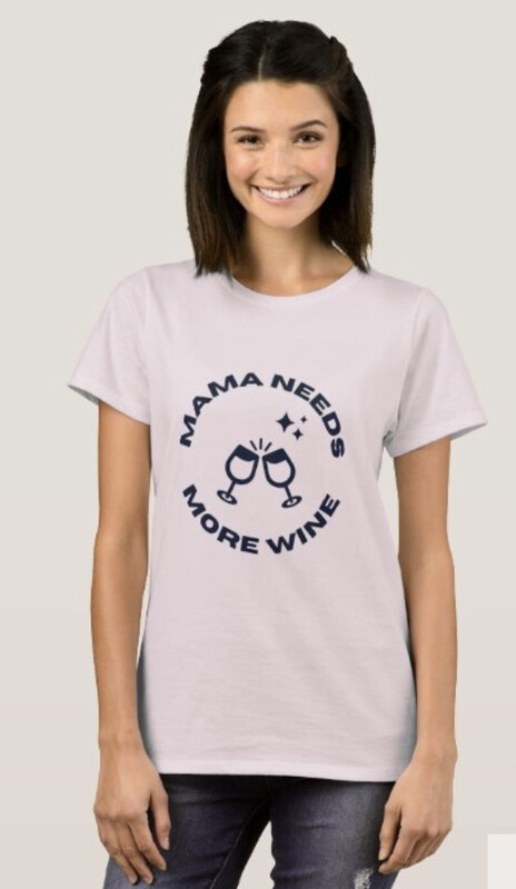 Mama Needs More Wine Crew Neck