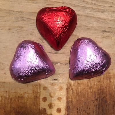 Lake Champlain Milk Chocolate Caramel-Filled Hearts - 3 Pieces (34g)