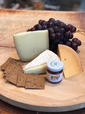 Build-Your-Own Cheese & Charcuterie Board Kit for Two